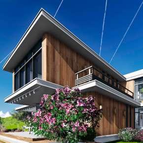 Проект частного дома Lounge House