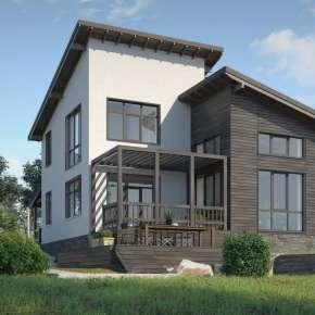 Проект загородного дом для молодой семьи