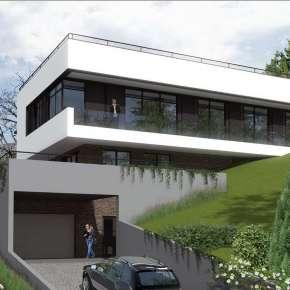 Проект дома на холме
