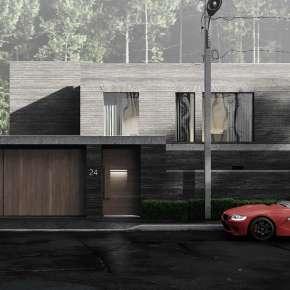 Проект кирпичного дома в Подмосковье