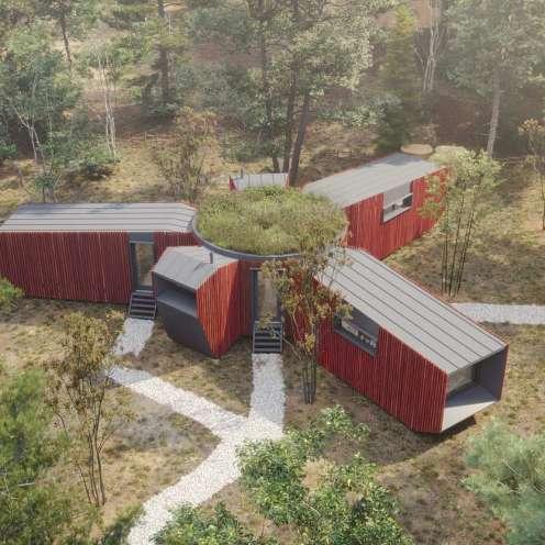 Проект модульного жилого комплекса
