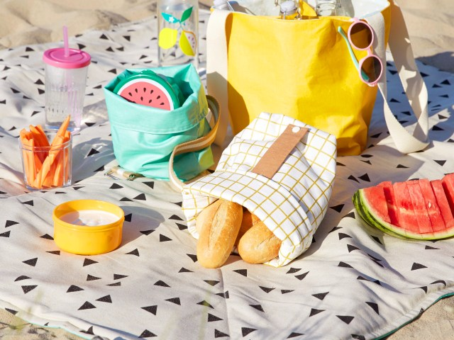 Picknickdecke zum Selbernähen