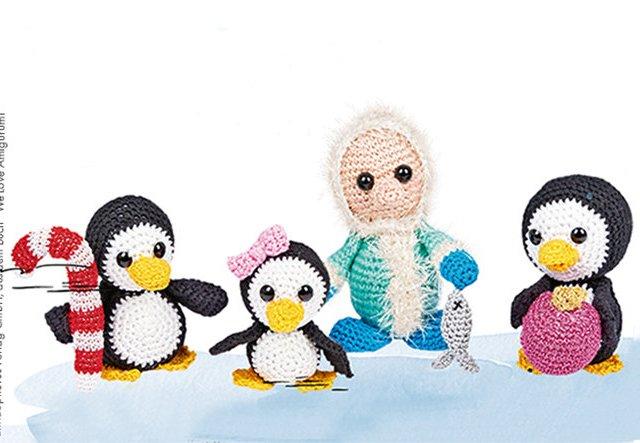 We Are Family! Amigurumi-Pinguine selber häkeln!