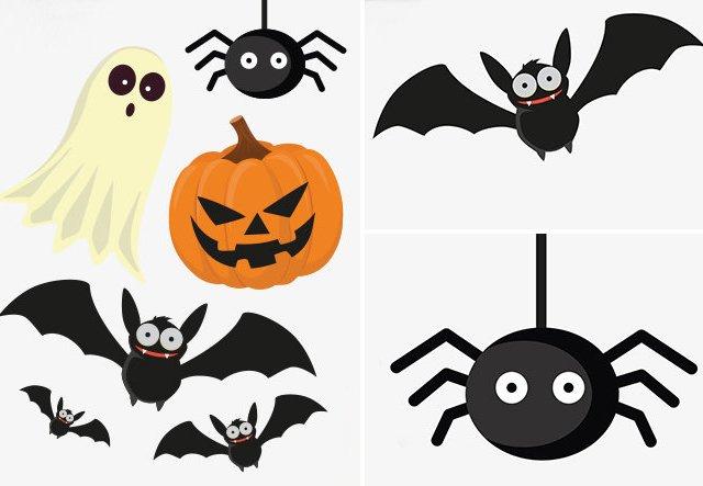 Halloween-Deko zum Gratis-Download!