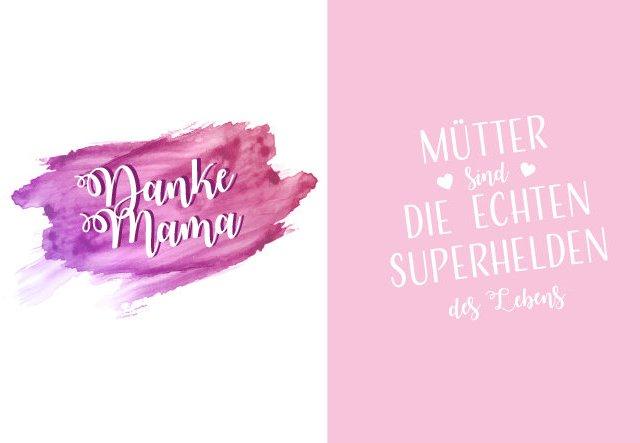 Last-Minute-Gruß: Karten zum Muttertag ausdrucken!