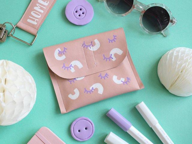 3 kreative DIY-Ideen mit Kunstleder und Pilot PINTOR Markern