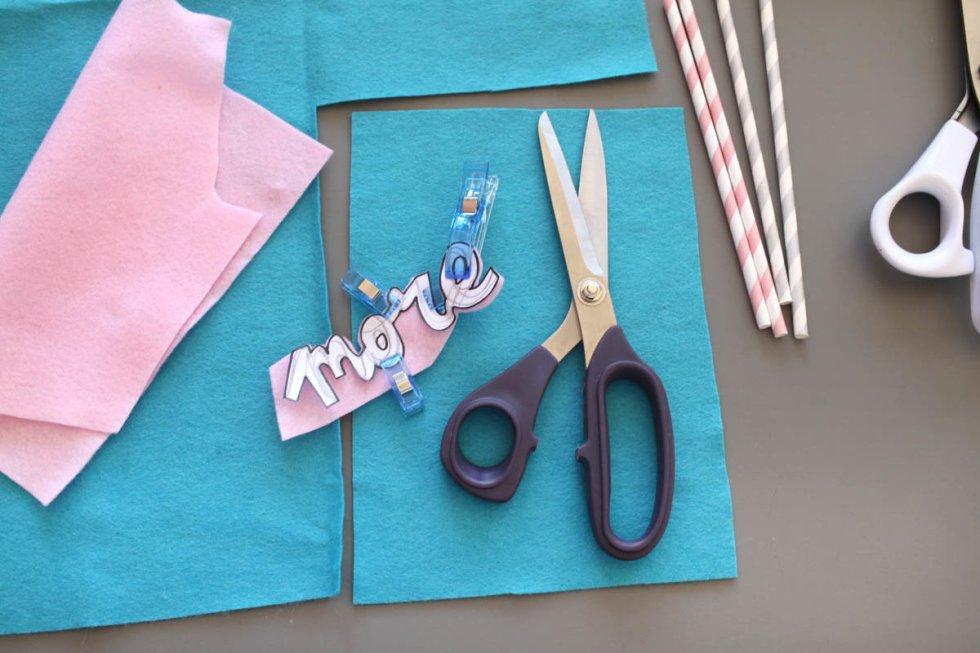 Makerist-DIY-Wimpel-Typo-Statements-Filz