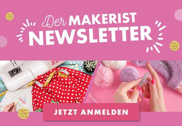 Sei dabei: Newsletter abonnieren und alle Makerist-Vorteile genießen!