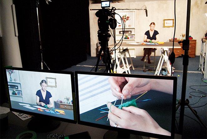 Wie geht eigentlich … Online-Videos für Handarbeit produzieren?