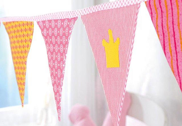 Kinder-Geburtstag: Wimpelkette selber nähen!