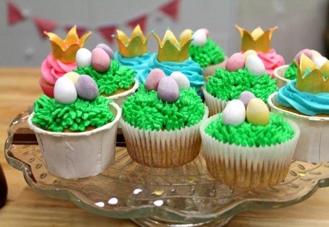 Cupcakes zu Ostern: Süße Nester für die Ostertafel