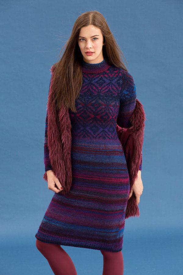 Makerist-Winterkleider-17-warme-Kleider-Kleid-mit-Jacquardmuster