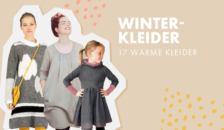 Winterkleider: 17 warme Kleider für die kalte Jahreszeit