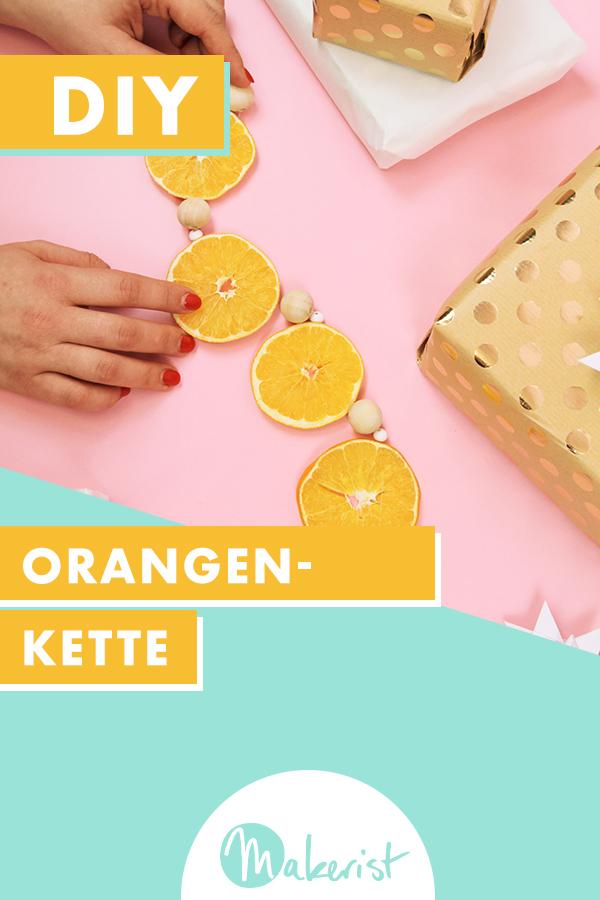 Makerist-Weihnachtsdeko-selbermachen-Orangen-Kette-basteln-Pin