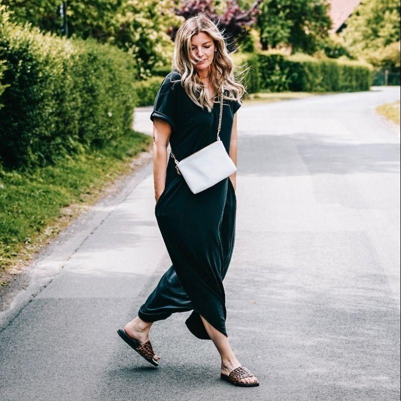 Makerist-Festliche-Kleidung-für-die-Feiertage-selber-nähen-19-Anleitungen-mit-Schnittmuster-Long Shirt Kleid Lynna