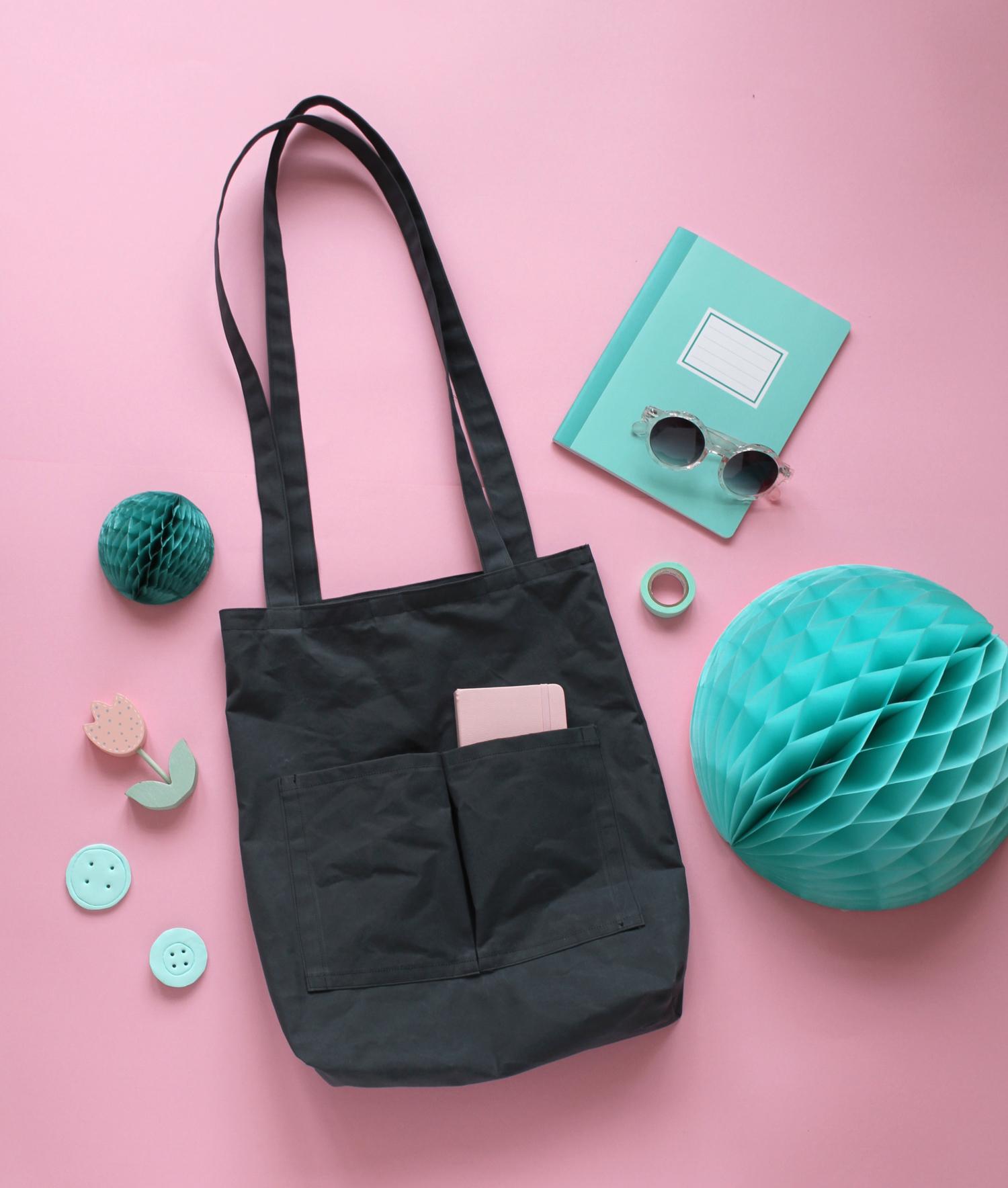 Makerist-Tasche-selber-nähen-Shopper-Bag-mit-Außenfächern-41