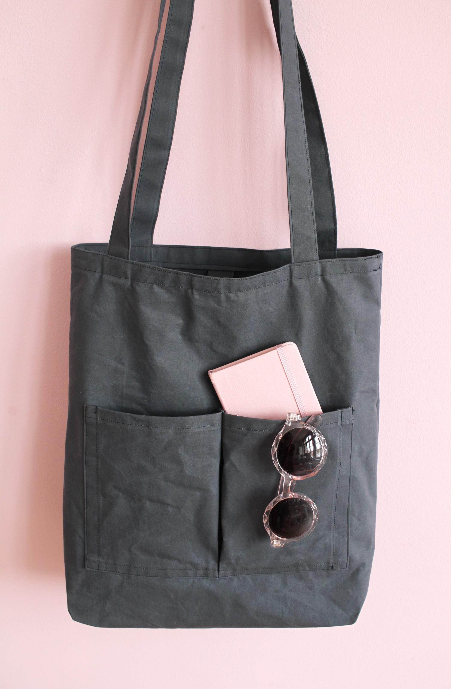 Makerist-Tasche-selber-nähen-Shopper-Bag-mit-Außenfächern-45