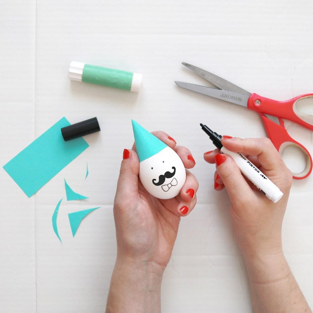 Makerist-Ostereier kreativ gestalten-Figuren-Hase (4)