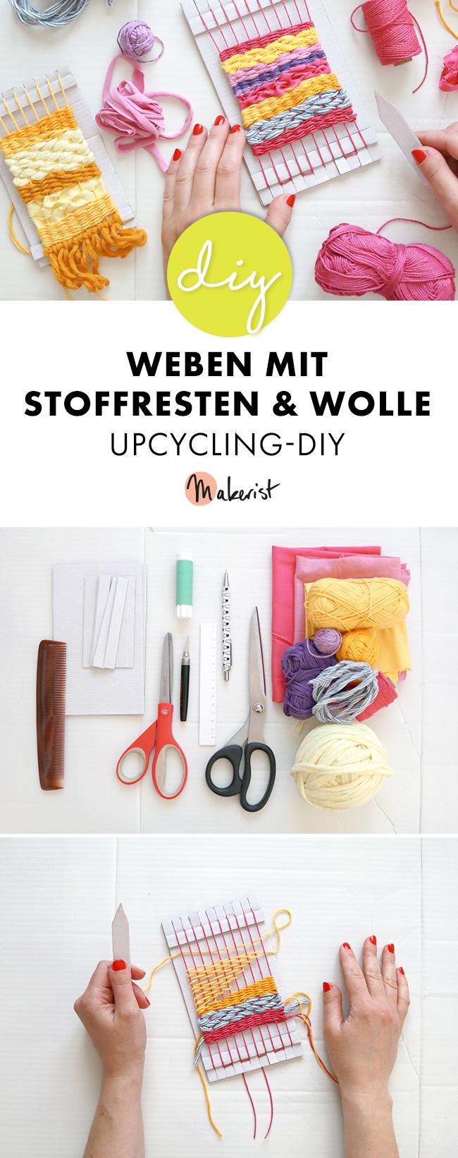 Makerist-Upcycling-DIY-Weben-mit-Stoffresten-und-Wolle-33
