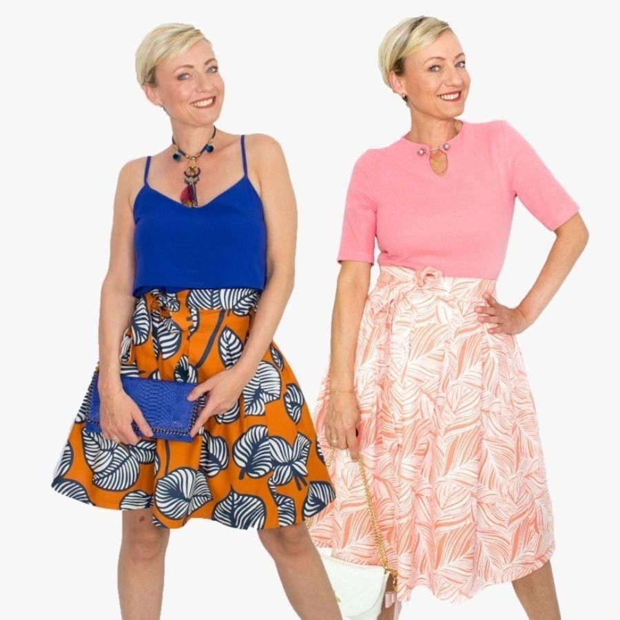 Makerist-Röcke selber nähen-Schnittgeflüster-Wickelrock-Victoria