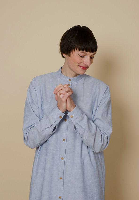 Makerist-Umstandsmode-selber-naehen-13-tolle-Anleitungen-Oversized-Shirt-dress