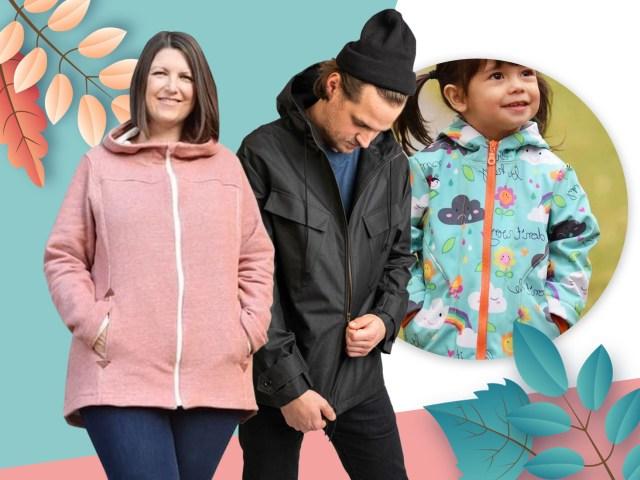 Outdoorkleidung selber nähen – 15 Anleitungen für jedes Wetter