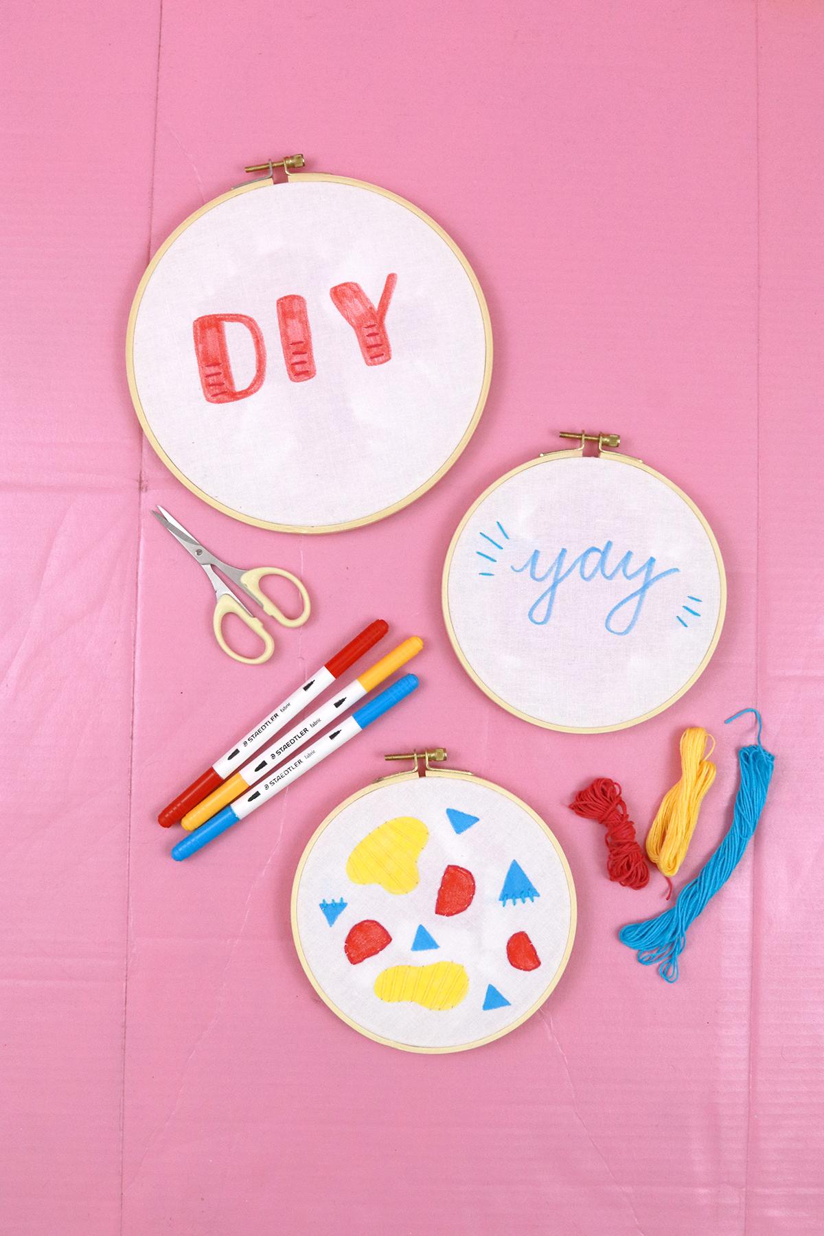 Makerist-DIY-Stickrahmen-mit-Textilfasermalern-und-Stickerei-gestalten-17