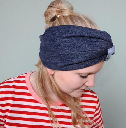Makerist-Tolle-Naehprojekte-fuer-Anfaengerinnen-17-einfache-Anleitungen-Denim-Haarband