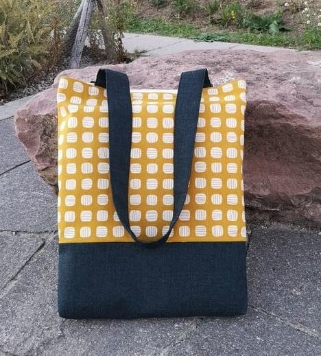 Makerist-Tolle-Naehprojekte-fuer-Anfaengerinnen-17-einfache-Anleitungen-Shopper-Tasche