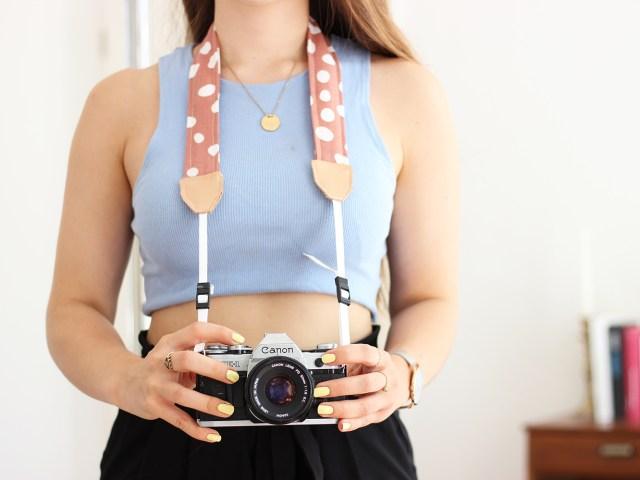 Kameraband einfach selber nähen