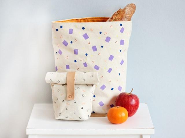 DIY Lunchbag nähen und bemalen