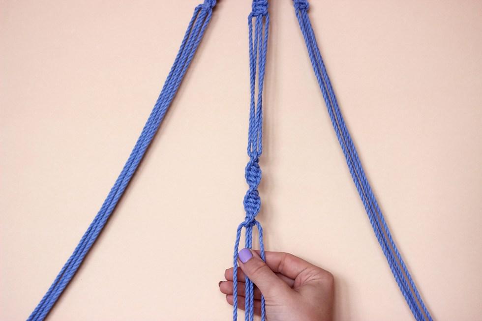 spiralknoten-knuepfen