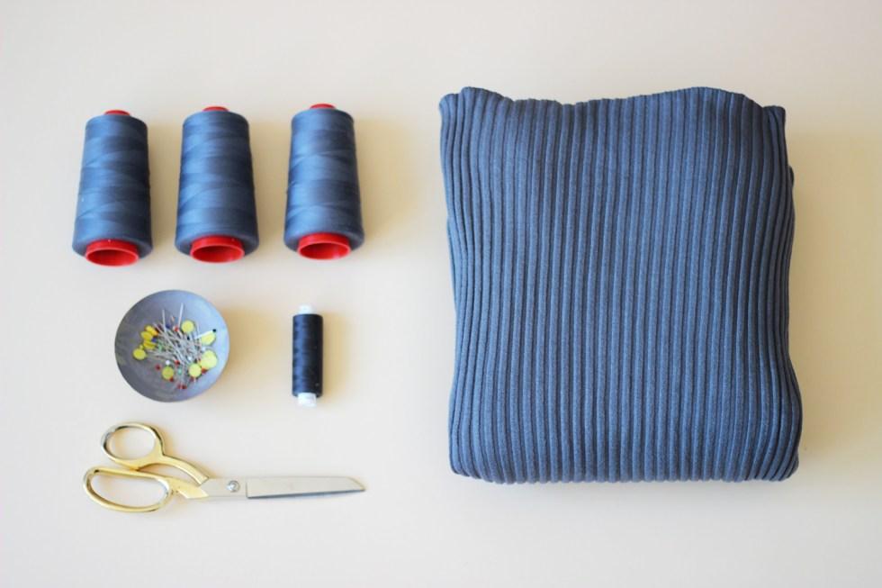 Rollkragenpullover-Materialien