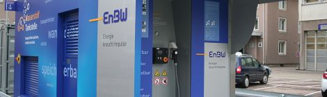 Tankstellen für Wasserstoff geplant
