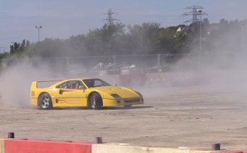 ferrari-f40-drift-video