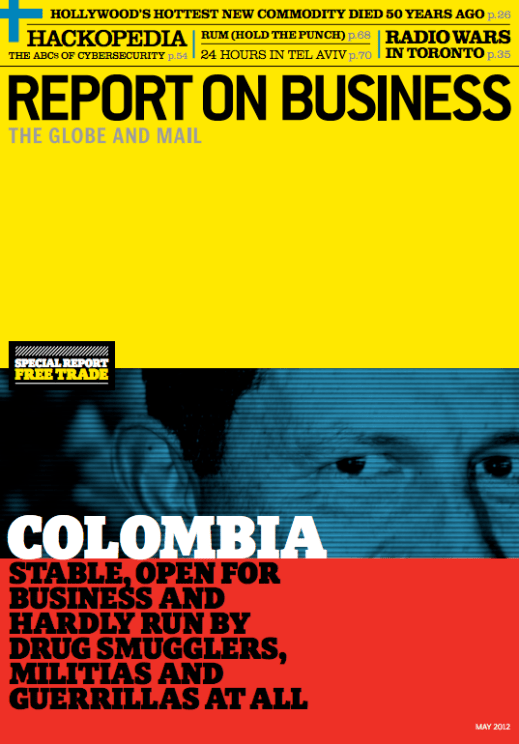 """""""Colombia"""" - Report on Business, Art Direction by Domenic Macri"""