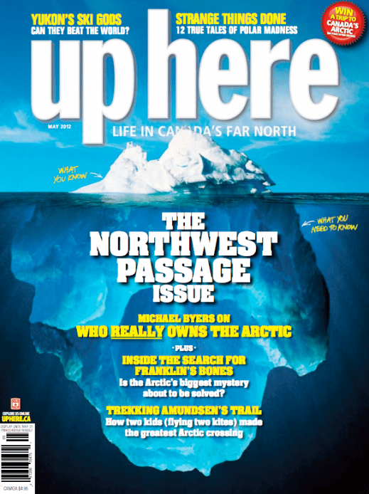 """The Northwest Passage"" -  Up Here, Art Direction by John Pekelsky"