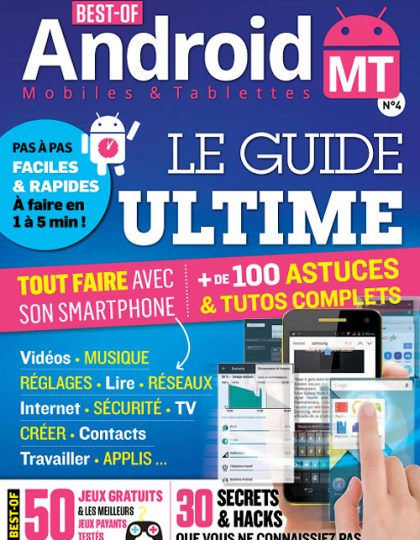 Best of Android Mobiles & Tablettes - Janvier/Mars 2015