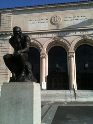 Detroit Institute of Arts, Rodin's Thinker