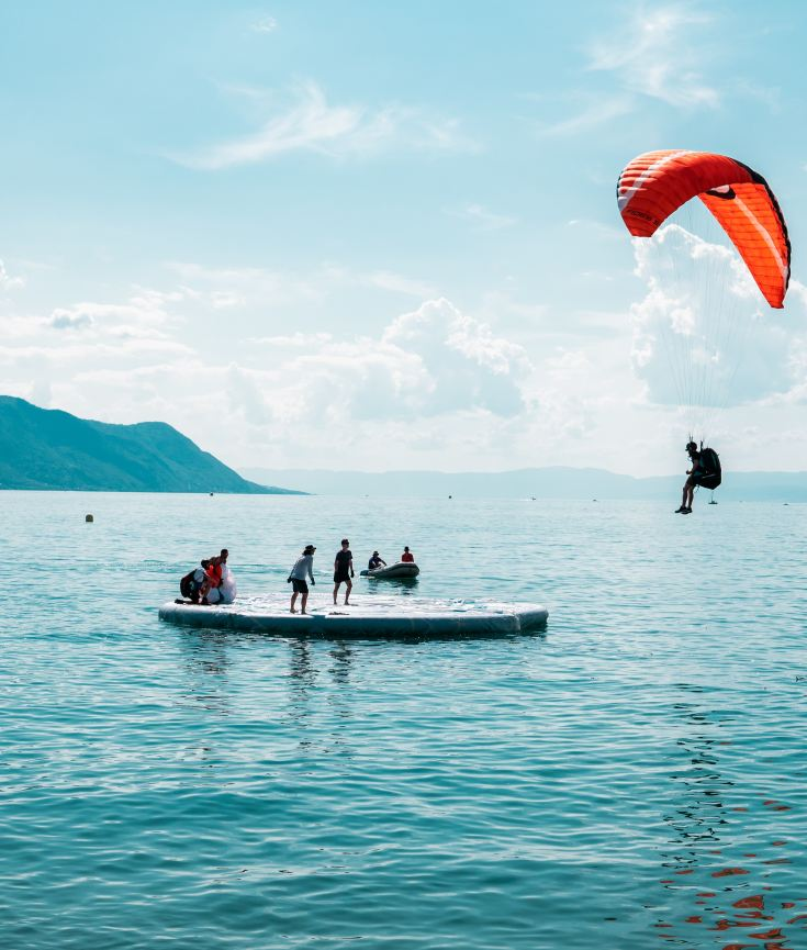 physical activity paragliding