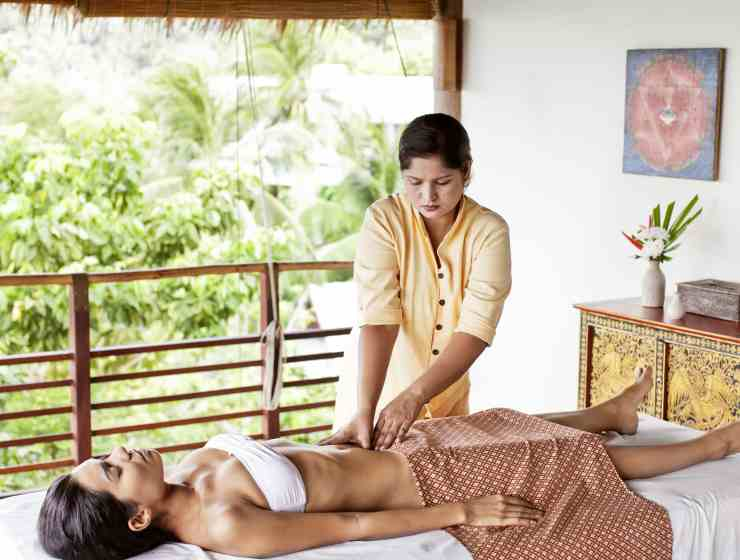 Massage the days away | Image courtesy of Kamalaya