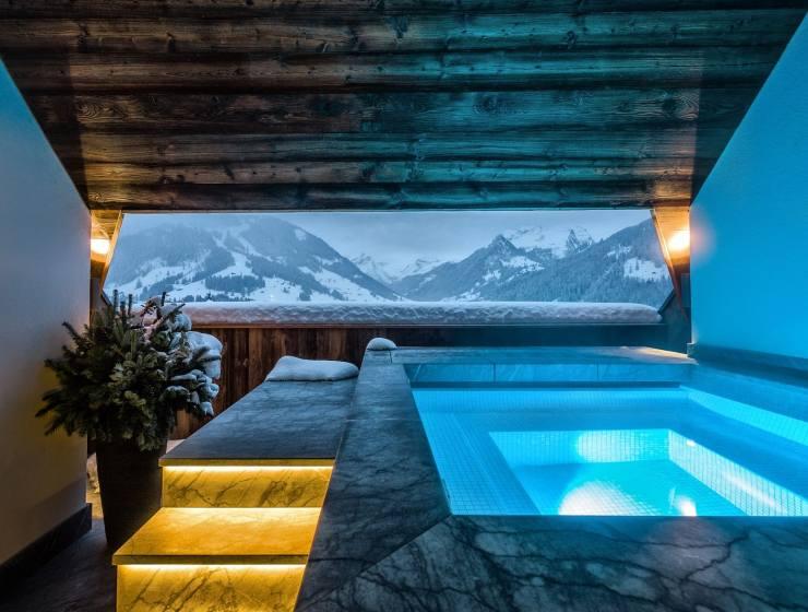 The Alpina Gstaad swiss resort spa