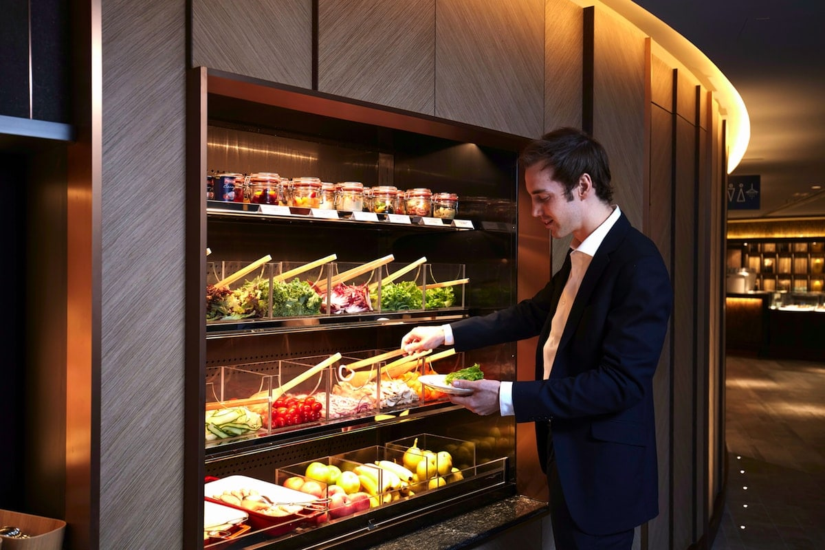 Image courtesy of Plaza Premium First, airport lounges, healthy airports