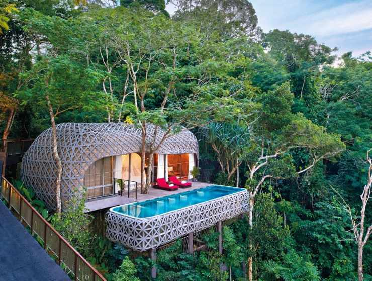 Image courtesy of Keemala retreat phuket bird tree house