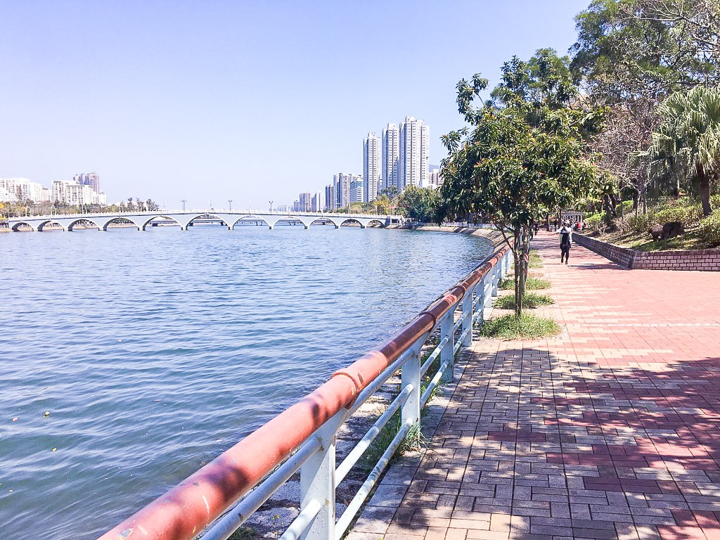 best running routes in Hong Kong