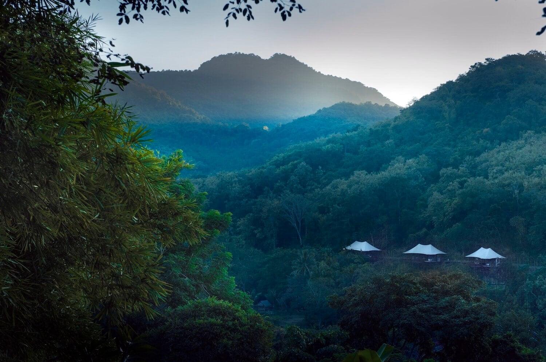 Rosewood Luang Prubang, lao wellness resort, jungle retreat, luxury wellness retreat,