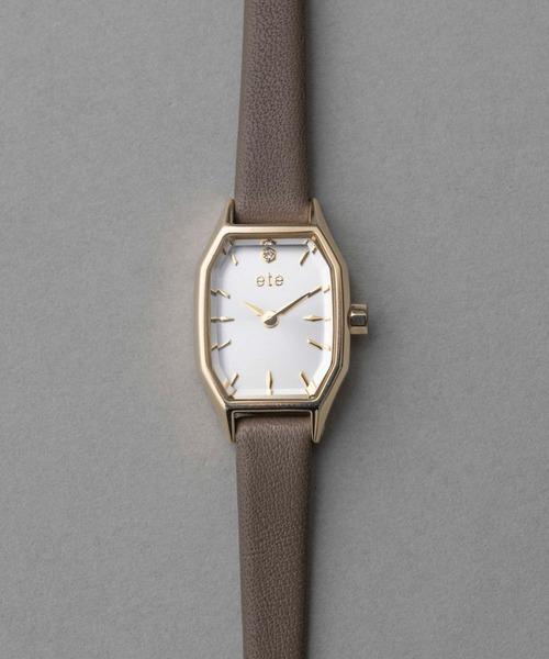 女性に人気のクリスマスプレゼント2020【レディース腕時計編】/ジュエリーブランド発の美しいデザイン。「ete(エテ)」の腕時計