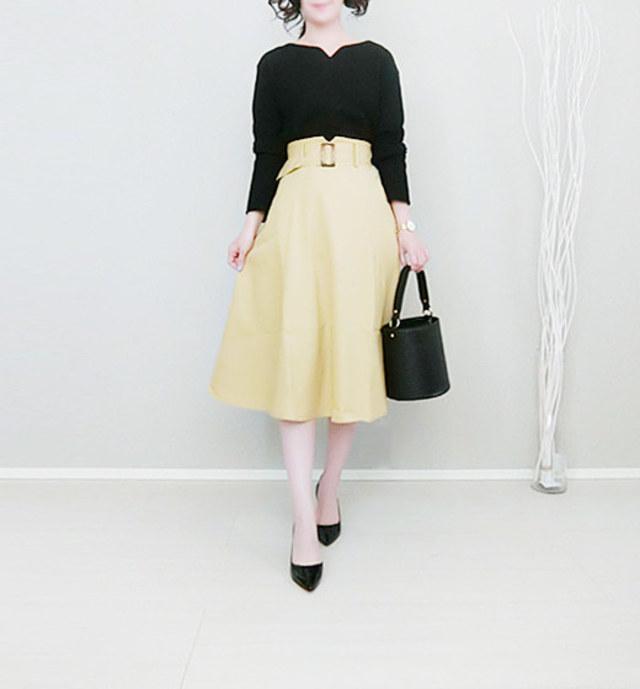 婚活OKな「美フレアスカート」を探せ! ちょうどいいデザインの法則/婚活におすすめのフレアスカートは「ひざが見えるか見えないか」な丈感