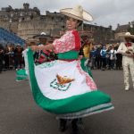 Banda Monumental de Mexico at the Royal Military Tattoo,
