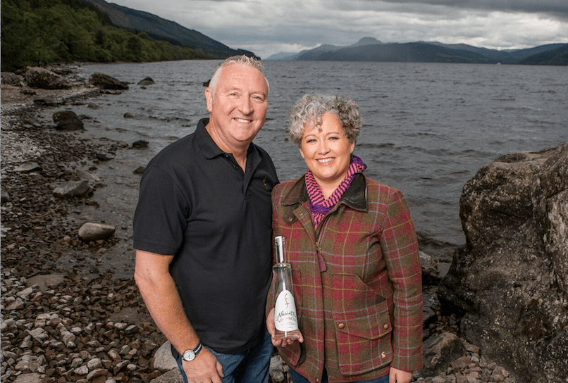 Lorien and Kevin Cameron-Ross, Loch Ness Absinthe